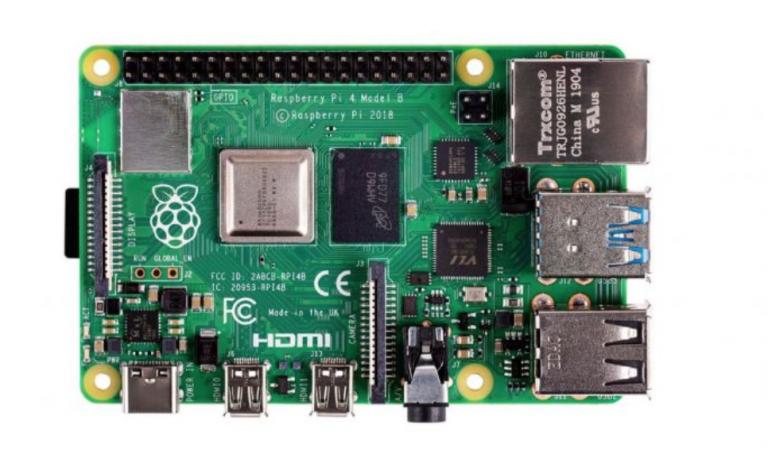 Raspberry Pi 4 Model B 1 GB, 2 GB, or 4 GB RAM